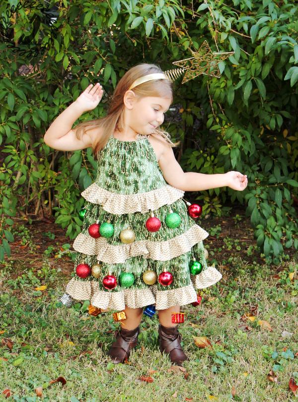 Halloween Hack Christmas Tree Costume Call Ajaire